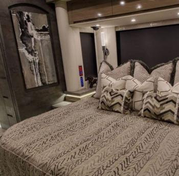 caravana porsche de lujo habitación
